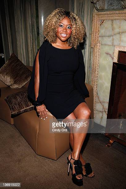 Coowner of Miss Jessie Titi Branch attends the Target salute to Miko Branch and Titi Branch to celebrate being named two of Ebony Magazine's Power...