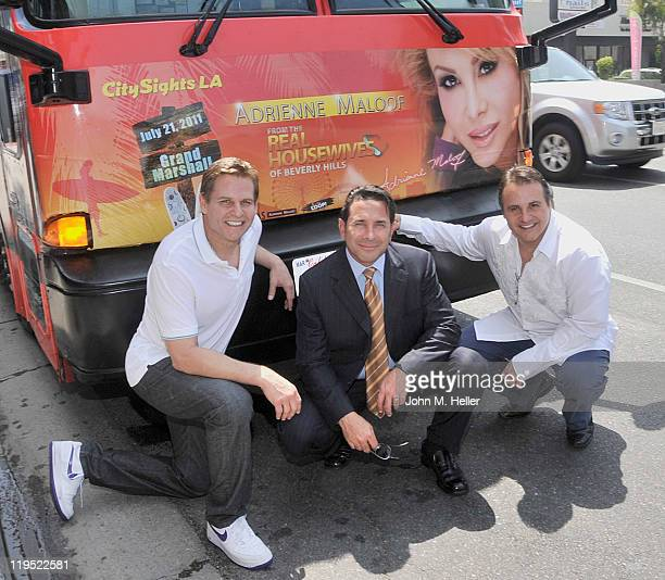 Co-owner of the Sacramento Kings of the NBA Joe Maloof, plastic surgeon Dr. Paul Nassif and Co-owner of the Sacramento Kings of the NBA George Maloof...