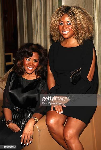 Coowners of Miss Jessie Miko Branch and Titi Branch attend the Target salute to Miko Branch and Titi Branch to celebrate being named two of Ebony...