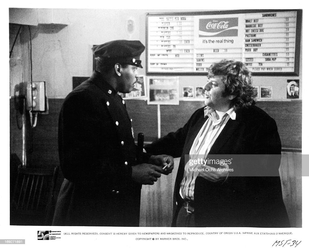 D'Mitch Davis And George Memmoli In 'Mean Streets' : News Photo
