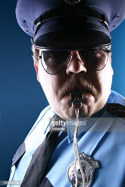Cop with Whistle