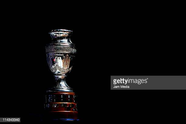 Copa America Trophy during theTrophy Tour at Marti Store on May 18, 2011 in Mexico City, Mexico. Copa America will start on July 1st until July 24th...