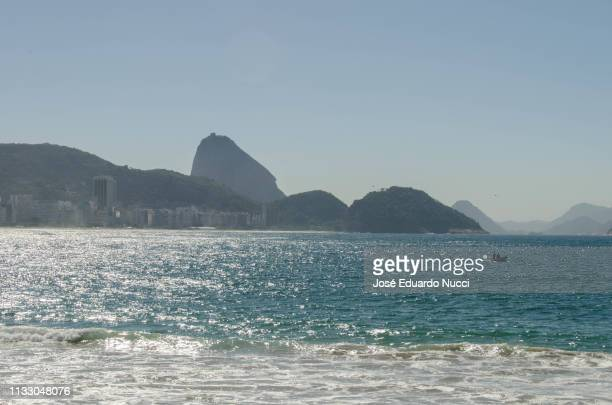 Copacabana beach from Post six
