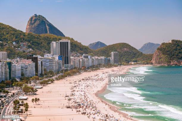 copacabana beach - copacabana beach stock pictures, royalty-free photos & images