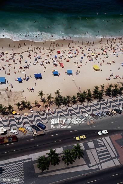 Copacabana Median Designed by Roberto Burle Marx