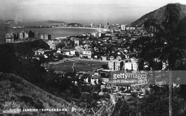 Copacabana, Rio de Janeiro, Brazil, c1937.