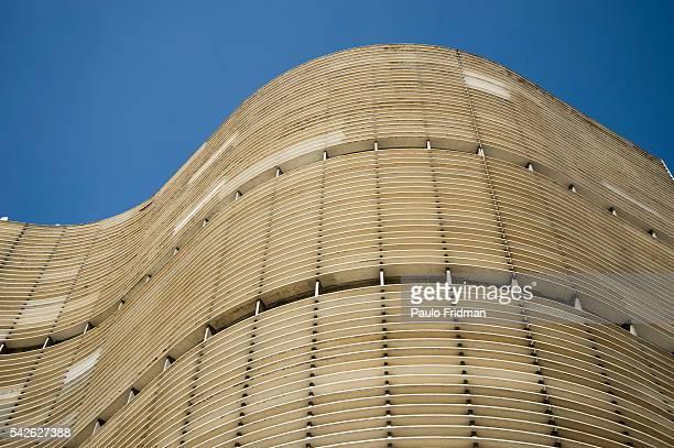 Copan building by Oscar Niemeyer in Sao Paulo Brazil