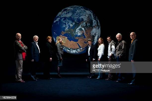 The French At The 15Th Un Summit On Climate Paris dimanche 29 novembre 2009 le magazine 'Paris Match' a réuni au studio Mac Mahon les personnalités...