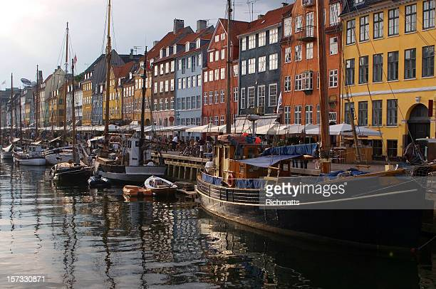 Copenhagen, Boats and Restaurants