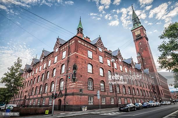 Copenhagen City Hall, facade