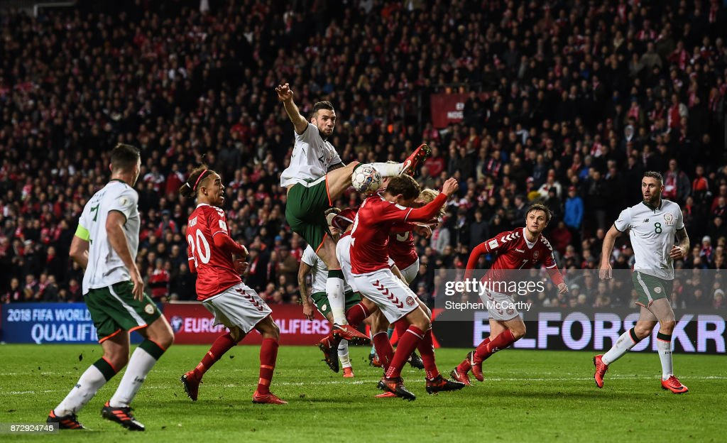 Denmark v Republic of Ireland - FIFA 2018 World Cup Qualifier Play-off 1st Leg : News Photo