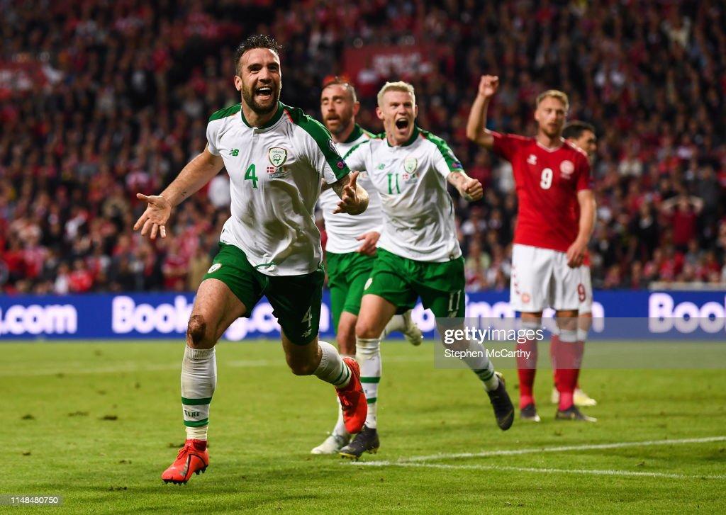 Denmark v Republic of Ireland - UEFA EURO2020 Qualifier : News Photo