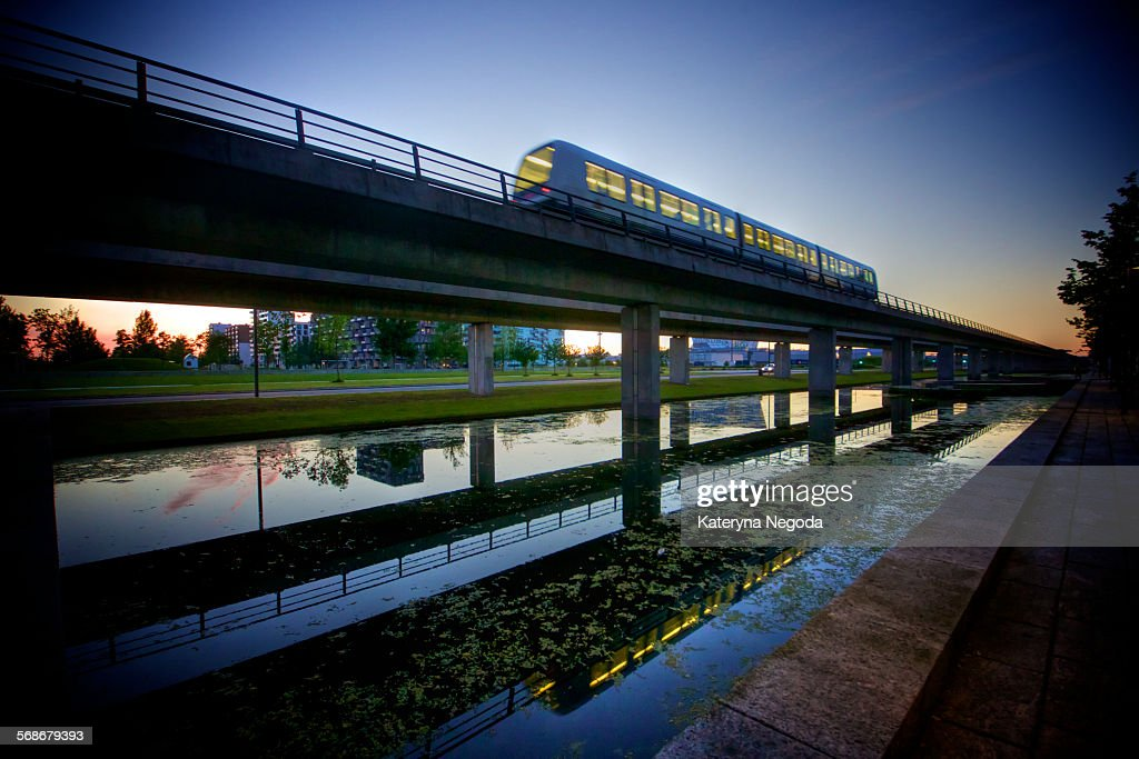 Copenhagen Metro, Denmark : Stock Photo