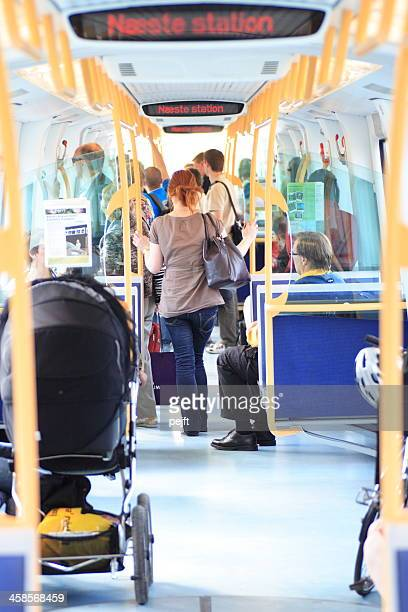 copenhagen metro train - pejft stock pictures, royalty-free photos & images