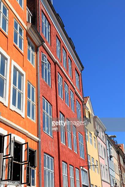 Copenhagen, Nyhavn colored facades