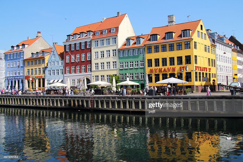 Copenhagen, Nyhavn : Stock Photo