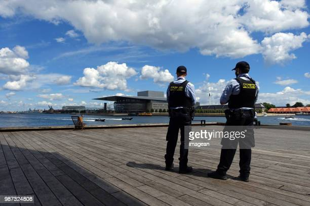 copenhagen opera - police force stock pictures, royalty-free photos & images