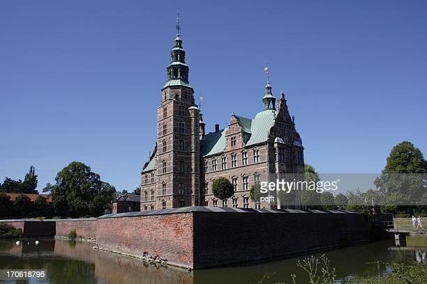 copenhagen - rosenborg castle - pejft stock pictures, royalty-free photos & images