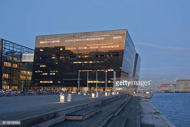 Copenhagen Royal Danish Library, Black Diamond Extension to Royal Library
