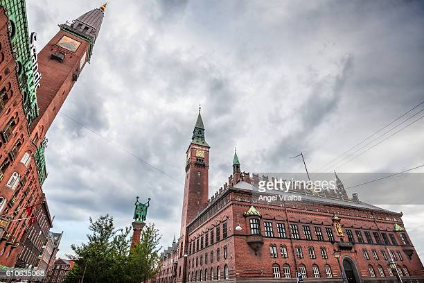 Copenhagen. Town Hall Square