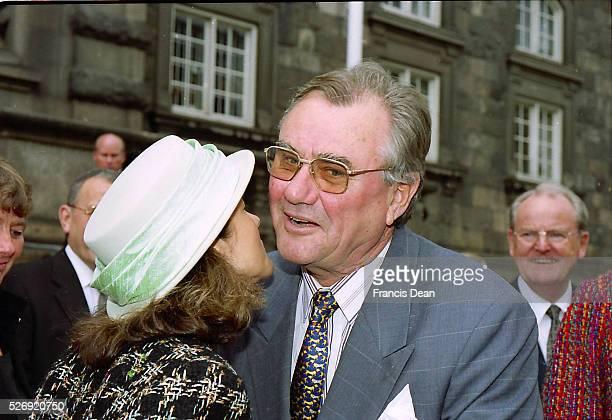 Copenhagen/Denmark/ _ Former princess Alexandra Christina Manley compnay with her former husband Princess Jaochim divorced in april 2004 and she...