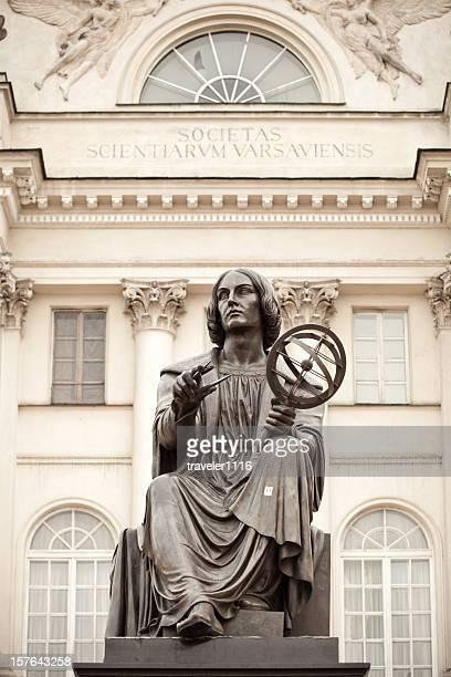 Copernicus Statue In Warsaw, Poland