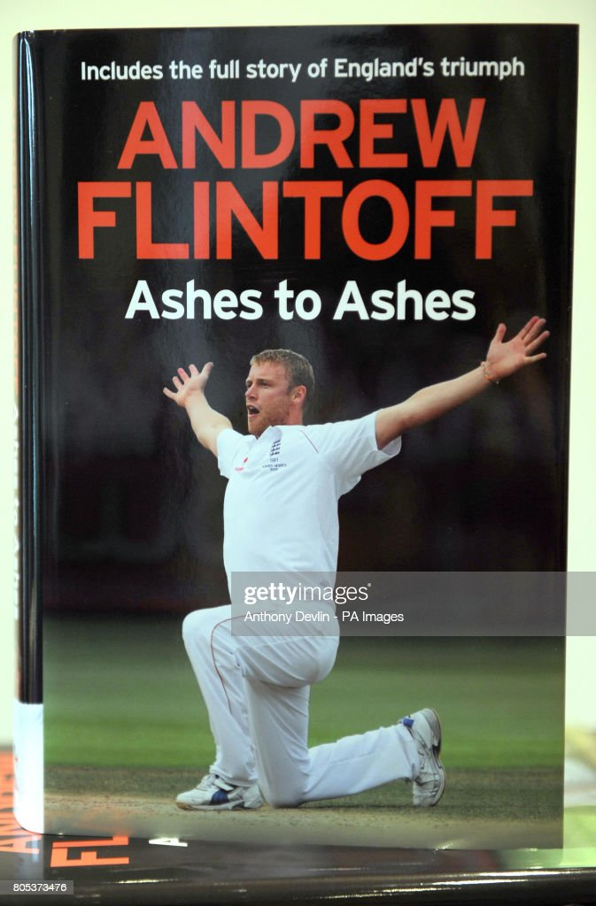 Copies of 'Andrew Flintoff: Ashes to Ashes' at the Four Seasons