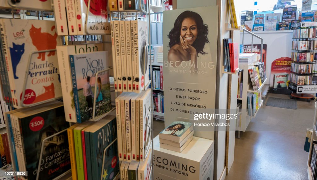 Becoming: Michelle Obama's Memoir Sells Well in Portugal : News Photo