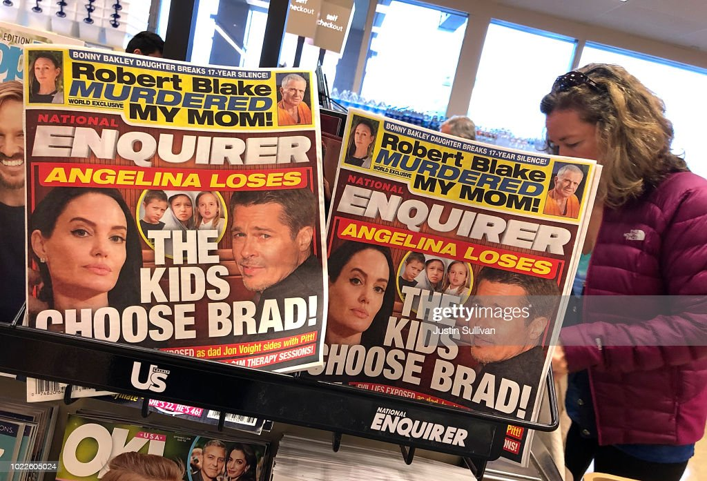 National Enquirer CEO David Pecker Granted Immunity In Case Looking Into Trump's Former Lawyer Michael Cohen : News Photo