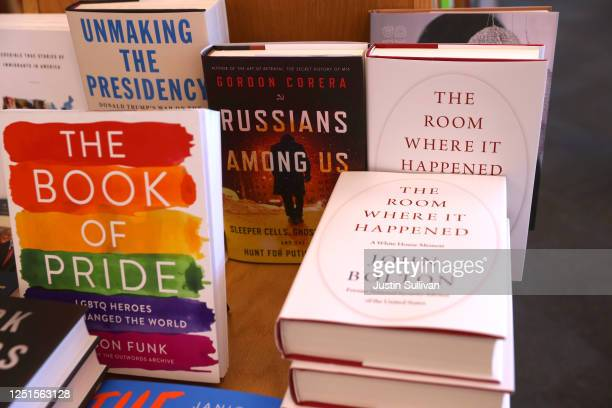Copies of the new book 'The Room Where It Happened' by former national security advisor John Bolton are displayed at Book Passage on June 23 2020 in...