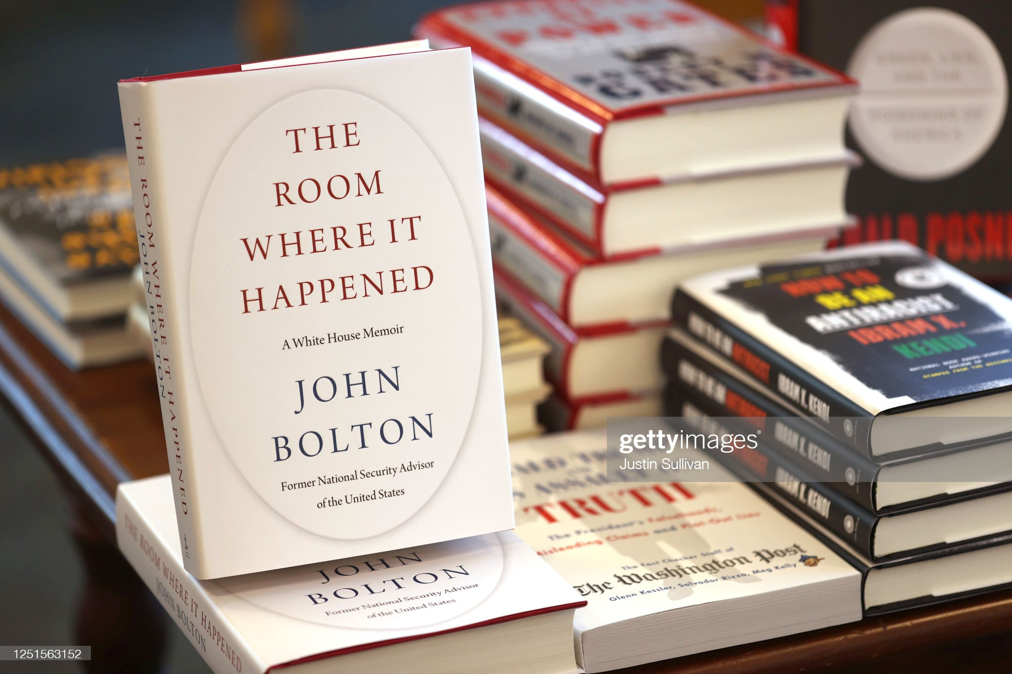 Controversial Book On Trump Administration By Former National Security Advisor John Bolton Released : Nachrichtenfoto
