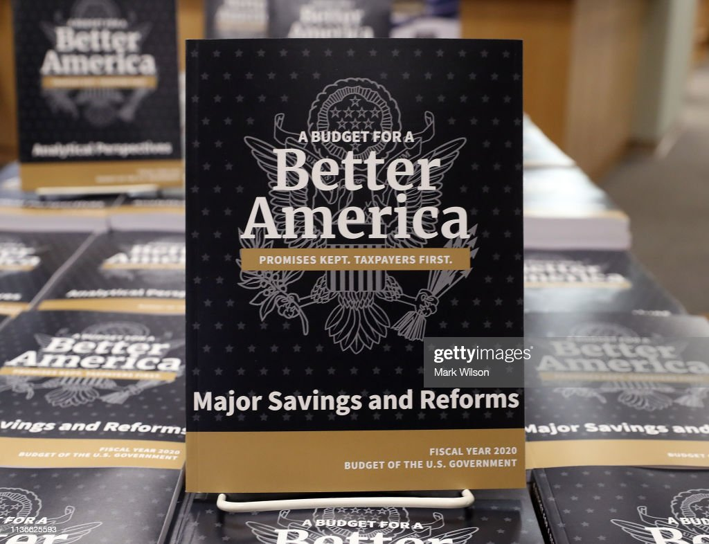 DC: Second Phase Of President Trump's Budget For Fiscal Year 2020 Released