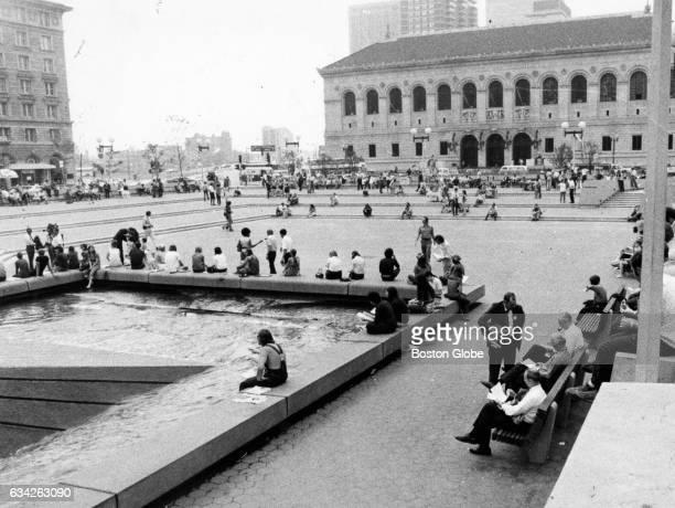 Copley Plaza in Boston on Sept 11 1971