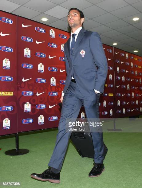 FUSSBALL INTERNATIONAL Coppa Italia Finale 2013/2014 AC Florenz SSC Neapel Marvin Compper