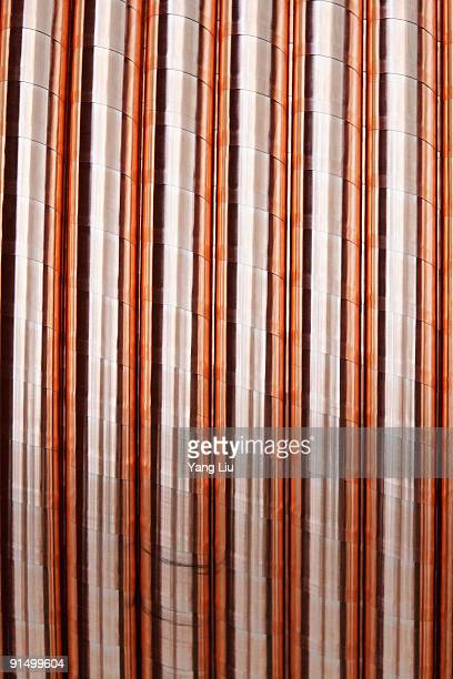 copper cable on spool - liu he stock pictures, royalty-free photos & images