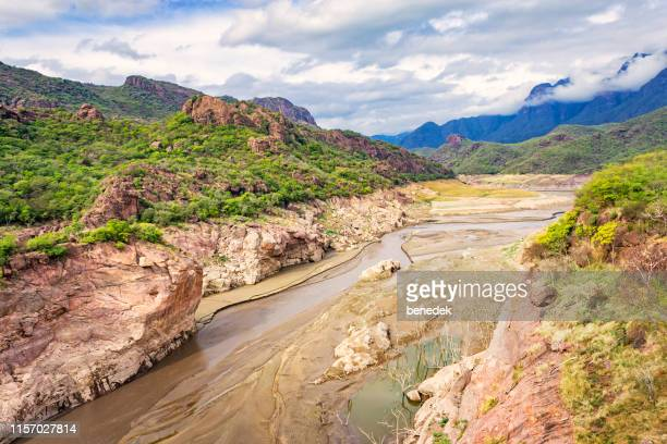 copper canyon in chihuahua mexico - eroded stock pictures, royalty-free photos & images