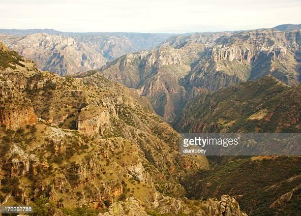 Copper Canyon du Mexique: Vue panoramique