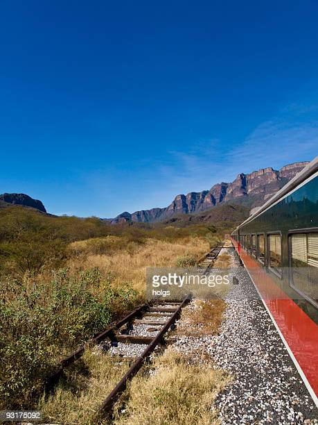 copper canyon train - chihuahua desert stock pictures, royalty-free photos & images