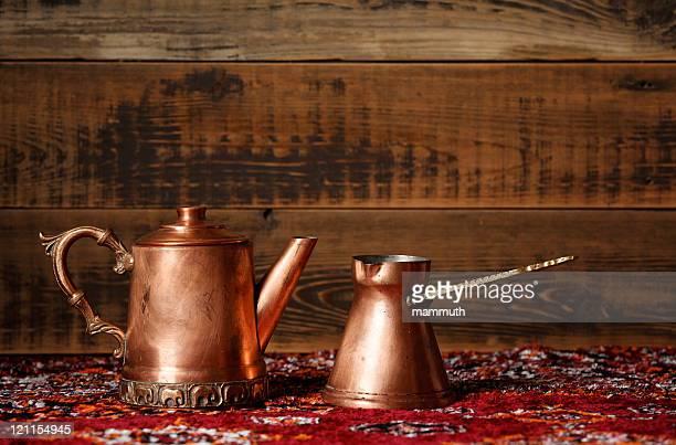 copper coffe pots