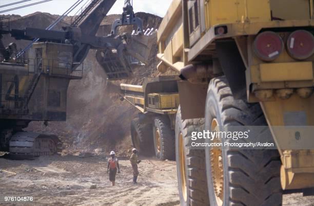 Copper Mine, Zambia, Africa.