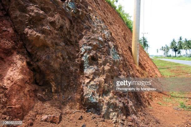 copper skarn - 孔雀石 ストックフォトと画像