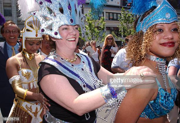 The Caribbean Cultural Comittee launched a preview of the annual Caribana Festival at Dundas Square on Monday Heritage Minister Shela Copps was on...