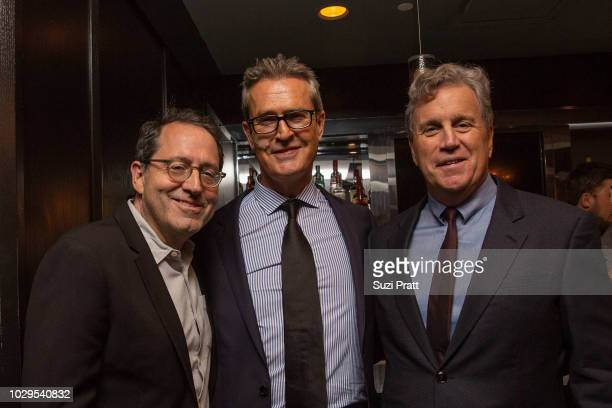 Co-President and Co-Founder of Sony Pictures Classics Michael Barker, actor Rupert Everett and Co-President and Co-Founder of Sony Pictures Classics...