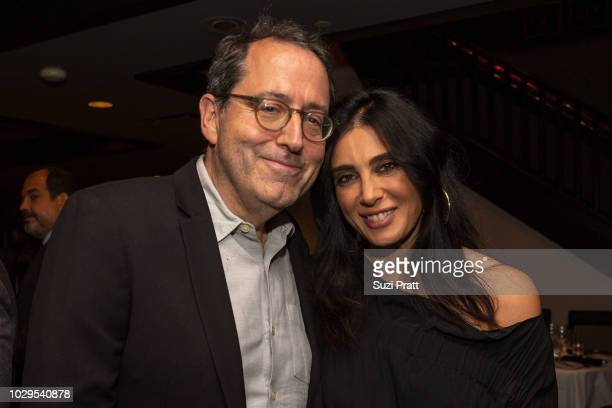 Co-President and Co-Founder of Sony Pictures Classics Michael Barker and director Nadine Labaki pose for a photo at Sony Pictures Classics TIFF...