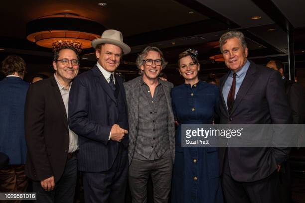 Co-President and Co-Founder of Sony Pictures Classics Michael Barker, actor John C. Reilly, actor Steve Coogan, producer Faye Ward, and Co-President...