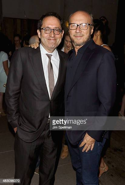 Copresident and cofounder of Sony Pictures Classics Michael Barker and writer/director Paul Haggis attends the after party for the screening of Sony...