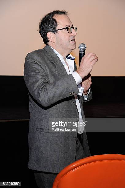 CoPresident and CoFounder of Sony Pictures Classics Michael Barker introduces the Crouching Tiger Hidden Dragon Screening celebrating the 4K Ultra HD...
