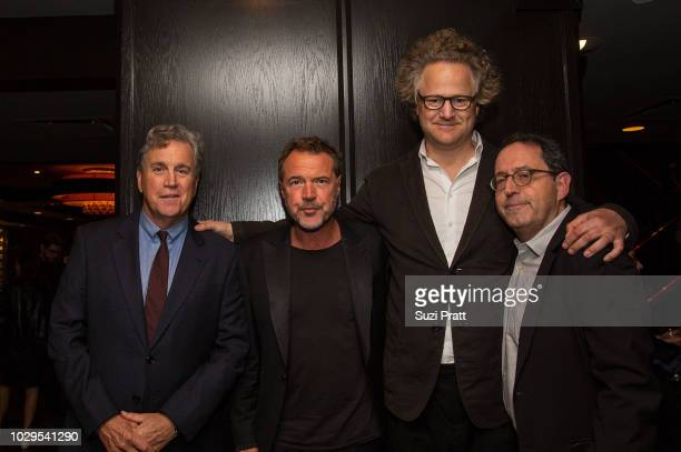 Co-President and Co-Founder of Sony Pictures Classics Tom Bernard , actor Sebastian Koch, director Florian Henckel Von Donnersmarck, and Co-President...