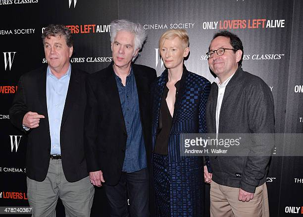 CoPresident and CoFounder of Sony Pictures Classics Tom Bernard director Jim Jarmusch actress Tilda Swinton and CoPresident and CoFounder of Sony...