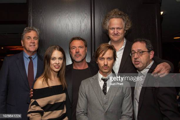 Co-President and Co-Founder of Sony Pictures Classics Tom Bernard , actress Paula Beer, actor Sebastian Koch, actor Tom Schilling, director Florian...